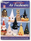 Plastic Canvas Holiday Air Fresheners