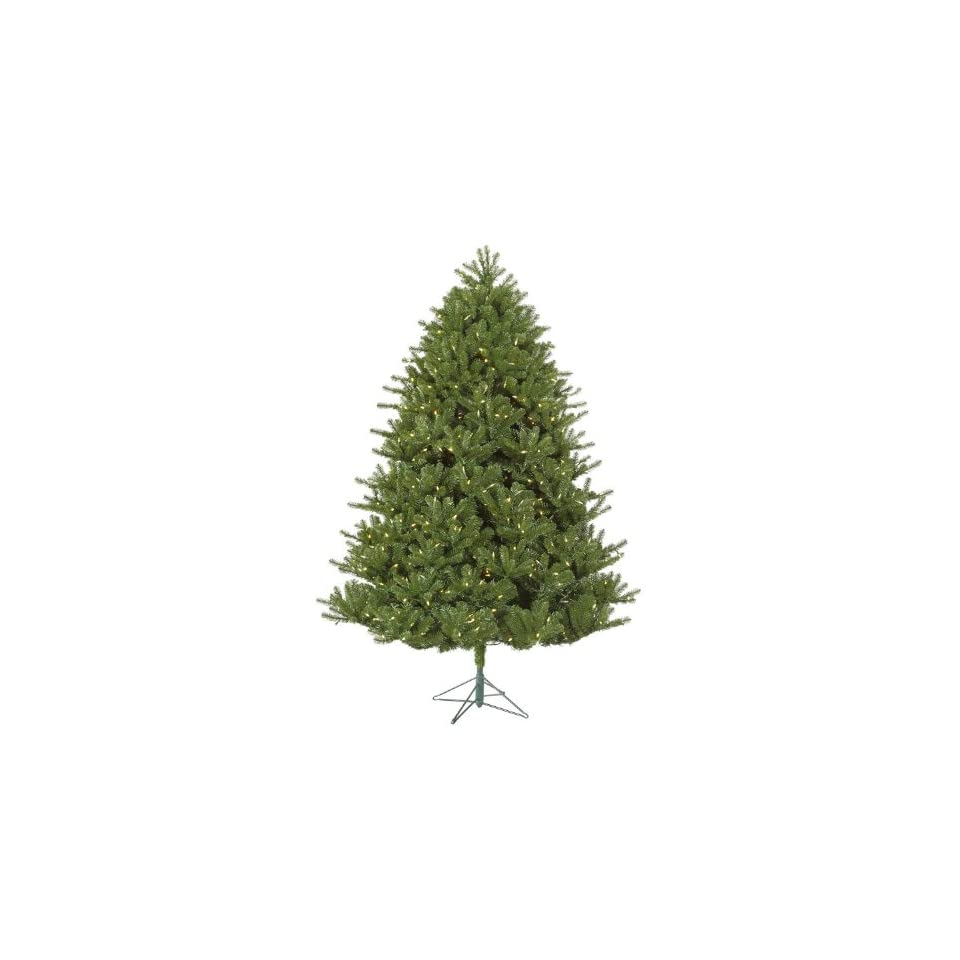 7.5 Pre Lit Hanover Pine Artificial Christmas Tree   Warm White LED Lights