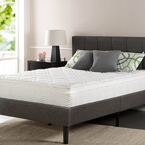 Sleep Master Ultima Comfort 10 Inch Pillow Top Spring Mattress, Twin (Rv Pillow Top Mattress compare prices)