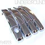 CHROME DOOR HANDLE COVERS - FOR VAUXHALL ASTRA , CORSA, INSIGNIA,