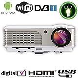 EUG X760+ Beamer WIFI DVB-T1 LCD LED Projektor 2600 Lumen