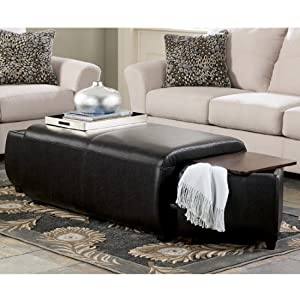 Accara Upholstered Ottoman with Storage
