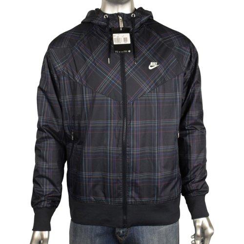 Mens Nike Blue Paid Super Runner Rain Windrunner Retro Running Jacket Size S M L