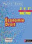 Economie - Droit 2e/1re/Tle Bac Pro