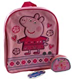 Peppa Pig 2 Piece School Backpack Bag And Coin Purse Set