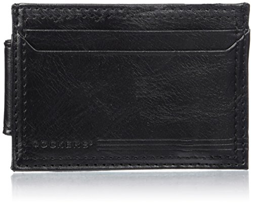 dockers-mens-rfid-blocking-extra-capacity-magnetic-front-pocket-wallet-black-one-size