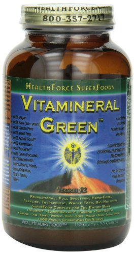 Healthforce Vitamineral Green V5.2 , Powder, 150-Grams