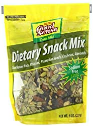 Good Sense Trail Mix, Dietary Snack Mix, 8-Ounce Bags (Pack of 12)