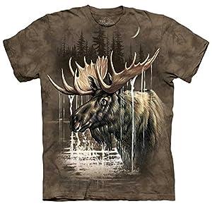 Moose Forest - Elch - in Erwachsenengröße L von The Mountain