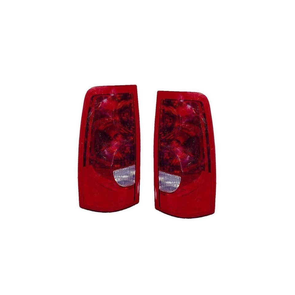 Chevy Silverado (1500/2500, w/ Fleetside) Replacement Tail Light Assembly   1 Pair