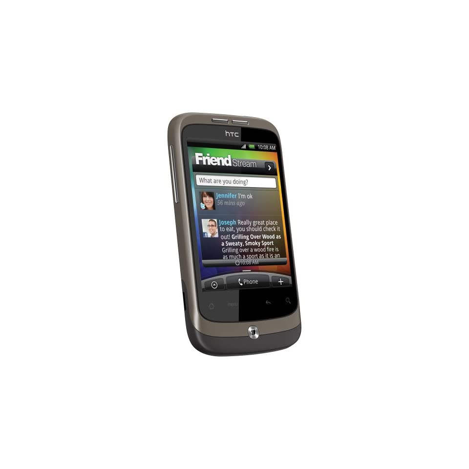 HTC PC49100 A3333 Wildfire   Touch Screen Android Phone Unlocked Cell Phones & Accessories