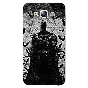 Jugaaduu Superheroes Batman Dark knight Back Cover Case For Samsung Galaxy E5