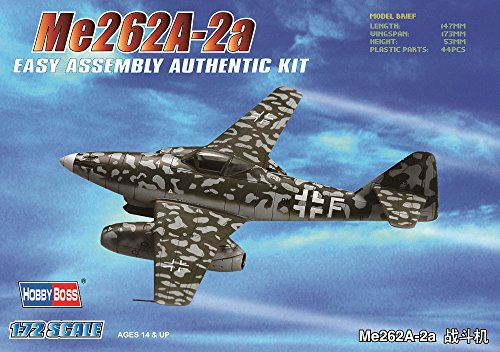 Hobby Boss Me 262A-2a Easy Assembly Kit Airplane Model Building Kit