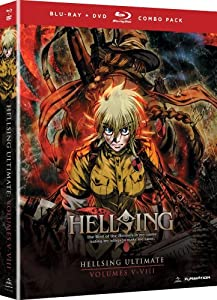 Hellsing Ultimate: Volumes 5 - 8 Collection (Blu-ray/DVD Combo)