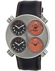 Buy Cheap Meccaniche Veloci Men's W106SO_123 Quattro Valvole Four Time Zone Watch Special offer