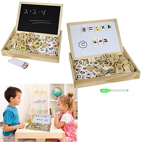 Wooden-Alphabet-Number-Blocks-With-Case-Magnetic-White-Board-and-Black-Board