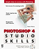 img - for Photoshop 4 Studio Skills by Moniz, Steven (1997) Paperback book / textbook / text book