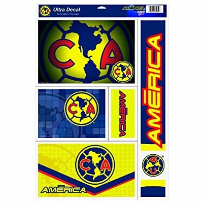 Club America 11-by-17 Inch Ultra Decal Set