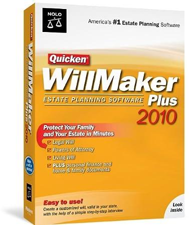 Quicken Willmaker Plus 2010 [Old Version]