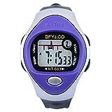 Hight quality cheap watch A1051 effect price digital quartz sport watch child watch backlight silicon wristwatches (green)