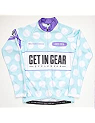 Get In Gear Women's Polka Cycle Jersey