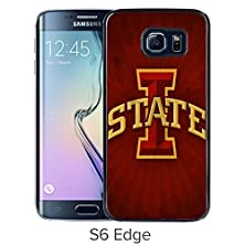 buy Samsung Galaxy S6 Edge Iowa State Cyclones Black Screen Cellphone Case Luxurious And Cool Design