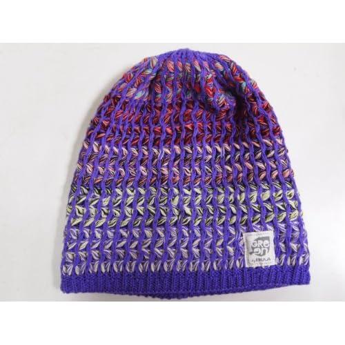 BULA(ブラ) COLOR BEANIE ニット帽子 サイズ:one size カラー:GRAPE