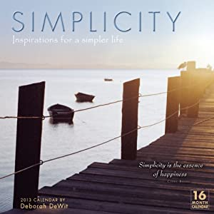 Simplicity 2013 Wall (calendar)