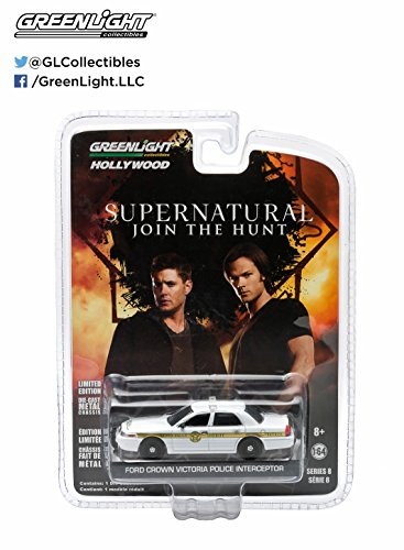 Greenlight Hollywood Series 8 - Supernatural Join The Hunt Ford Crown Victoria Police Interceptor