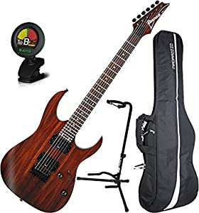 ibanez rg421rw charcoal brown flat electric guitar wizard iii maple neck w gig bag. Black Bedroom Furniture Sets. Home Design Ideas