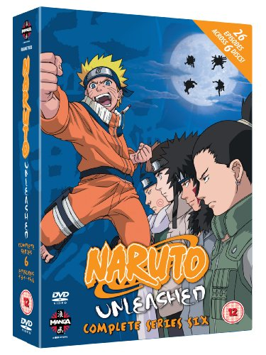 Naruto Unleashed - Complete Series 6 [DVD] [2002]