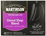 Martinson Coffee Capsules, Donut Shop Blend Package compatible with Keurig K-Cup Brewers, 48 Count