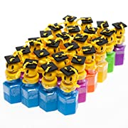 Smiley Face Graduate Bubble Bottles