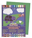 "SunWorks Construction paper, 9""X12"", Holiday Green, 50 Sheets"