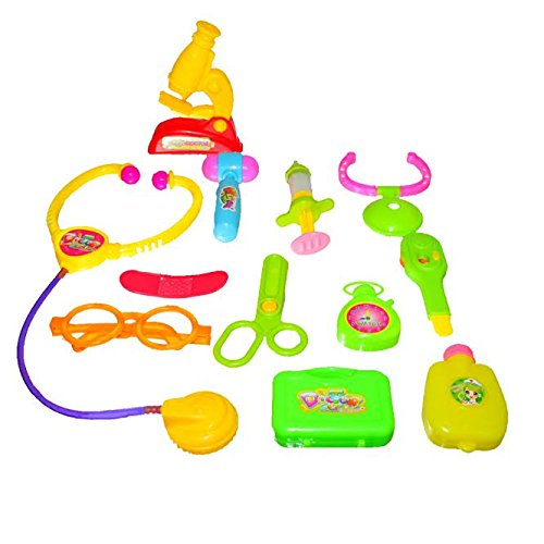 Dazzling Toys Little Doctors Kit with Adorable Accessories - 12 Piece Set - 1