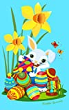 img - for Easter Bunny Kids Notebook: Easter Gifts & Presents for Kids / Children - Non Chocolate ( Ruled Notebook with White Rabbit, Butterfly, Ladybird, Bug, ... & Eggs ) (Kids 'n' Teens Stationery) book / textbook / text book