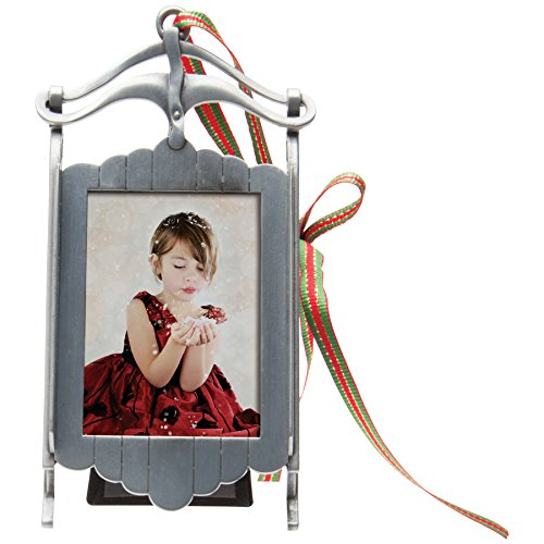 Photo Ornament Sled Frame - 1