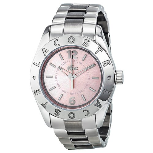 Lacoste Biarritz Pink Dial Ladies Watch 2000713