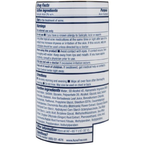 Nature S Cure Body Acne Treatment Spray   Fl