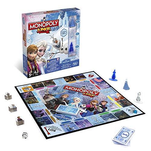 hasbro-spiele-b2247100-disney-die-eiskonigin-monopoly-junior-familienspiel