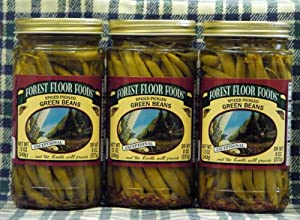Spiced Pickled Beans--3 jar set by Wisconsinmade.com