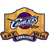 NBA Cleveland Cavaliers 11-by-17 inch Established Wood Sign Amazon.com