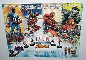 Amazon Com Avengers Heroclix Marvel Comic Book Shop 22 X