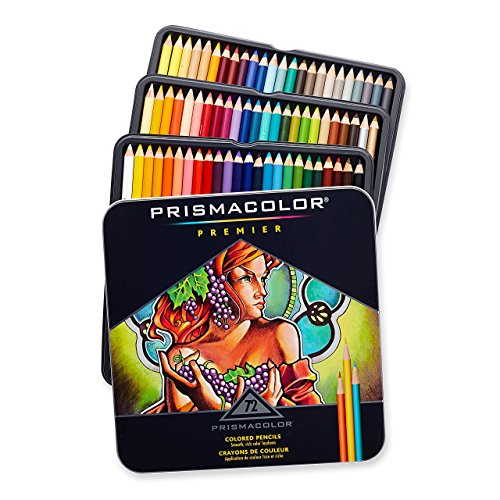 Prismacolor Premier Colored Pencils, Soft Core, 72-Count (Color Pencil By Number compare prices)