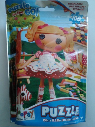 Puzzle on the Go Lalaloopsy 100 Pieces