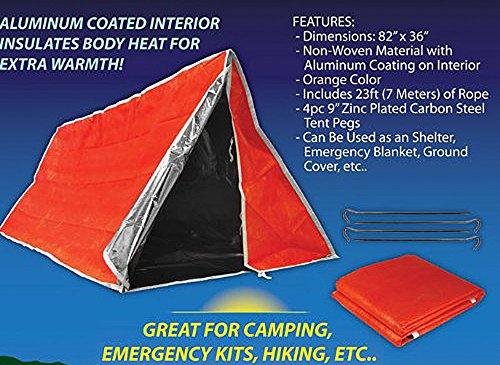SE ET3683 Emergency Outdoor Tube Tent with Steel Tent Pegs  sc 1 st  Survival Gear | Prepper Gear | Survivalist | Avid Survivalist & ET3683 Emergency Outdoor Tube Tent with Steel Tent Pegs