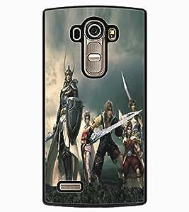 ColourCraft Warriors Design Back Case Cover for LG G4