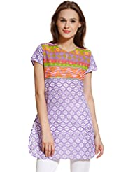 MEIRO Women's Printed Dress, Designed In NYC
