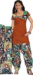 Rajnandini Women's Cotton Dress Material (Multi_Free Size)