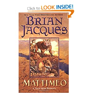 Mattimeo (Redwall, Book 3) by Brian Jacques and Gary Chalk
